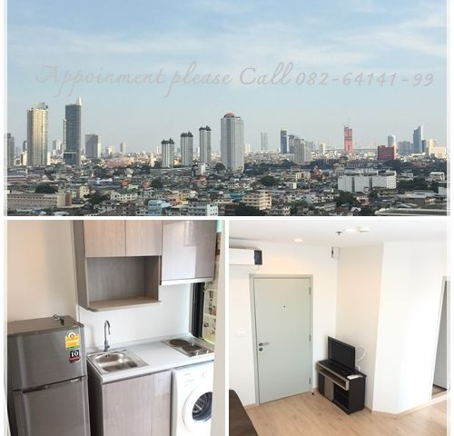 Urgent for rent Ideo Sathorn Thaphra fully furnished nice view close to BTS