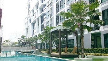 Metro Sky Ratchada For rent near MRT Huaykwang and Sutthisan