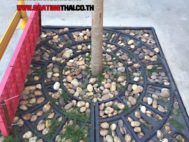 Min-Tree Grating Paver Suspension Support Material Frame Cover กรอบตะแกรงปกป้องร